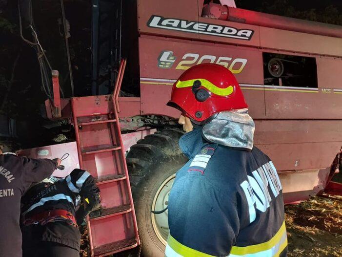 Combina distrusa de foc, in Babasesti (Foto)