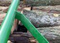 Transport ilegal de lemne sancţionat de jandarmi cu 10000 lei (Foto)
