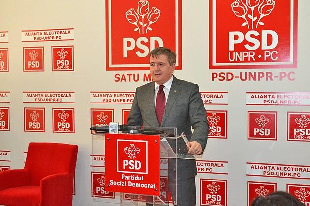 Mircea Govor este noul președinte al PSD Satu Mare