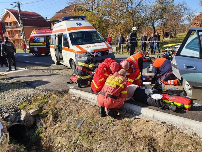 Accident mortal ! S-a solicitat elicopterul SMURD ! (Fotogalerie)